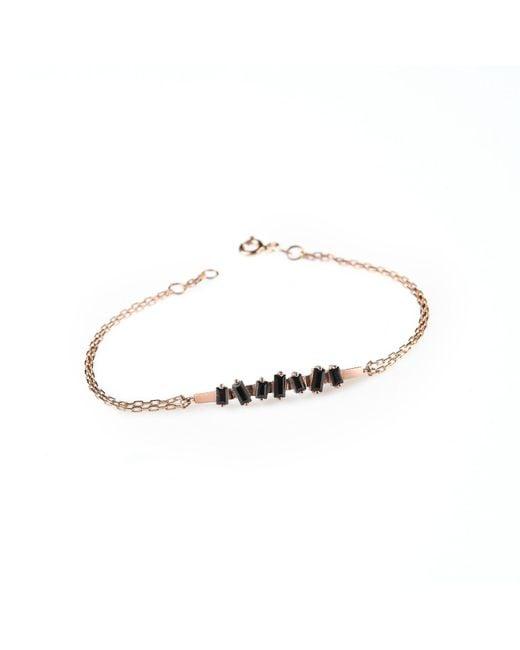 Myriamsos | Metallic The Skyline Collection The Side Gem Bracelet | Lyst