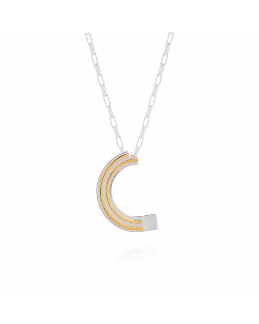 Yasmin Everley Jewellery - Metallic Saxony C Initial Necklace - Lyst
