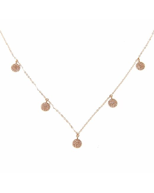 Ri Noor - Metallic Five Disc Necklace - Lyst