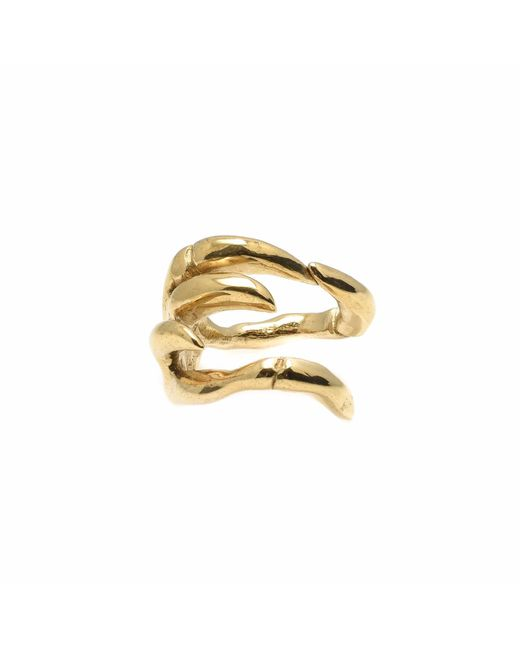 Kim Keohane | Metallic Large Gold Claw Ring | Lyst