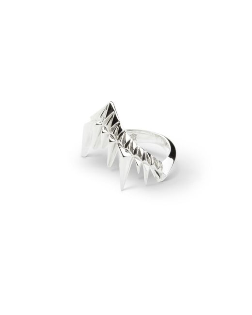 Kasun | Metallic Shark Bay Ring Silver | Lyst