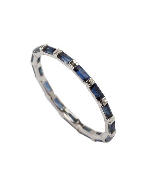 Joana Salazar | Calendar Eternity Blue Sapphire Ring | Lyst