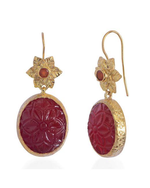 Emma Chapman Jewels - Multicolor Bodhi Carnelian Earrings - Lyst