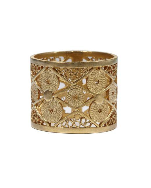 Vanilo - Metallic Alma Ring - Lyst