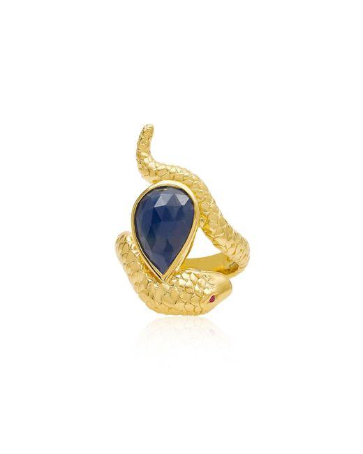 Alexandra Alberta - Arizona Blue Sapphire Ring - Lyst