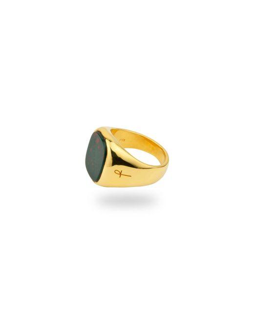 Phira London - Jamestown Green Bloodstone Gold for Men - Lyst