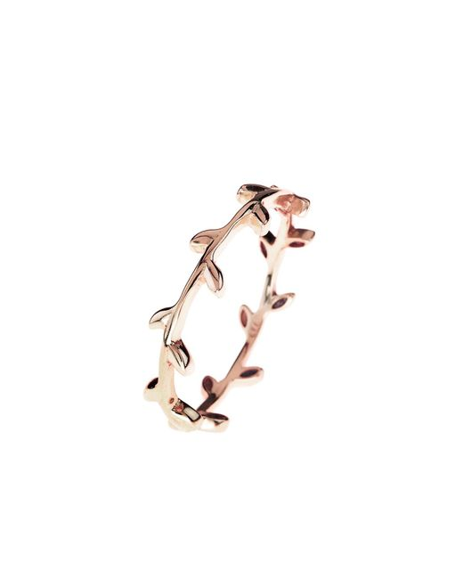Latelita London | Multicolor Cosmic Branch Ring Rosegold | Lyst