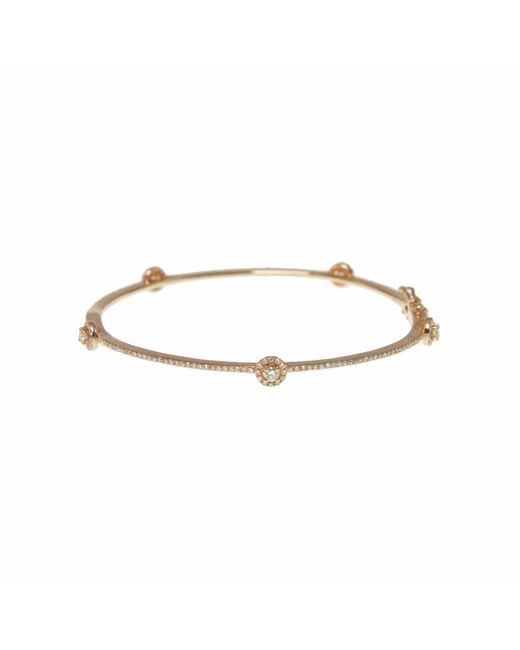 Ri Noor - Metallic Diamond Bangle - Lyst