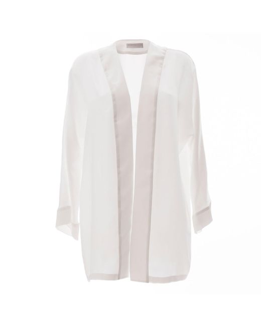 Roses Are Red | 6th Floor White Silk Cardigan | Lyst