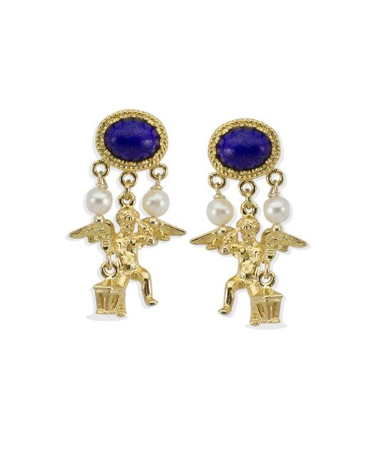 Vintouch Italy - Metallic Puttino Earrings - Lyst