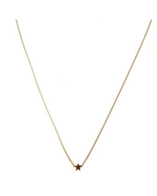 Isabel Lennse | Metallic Mini Star Gold Necklace | Lyst