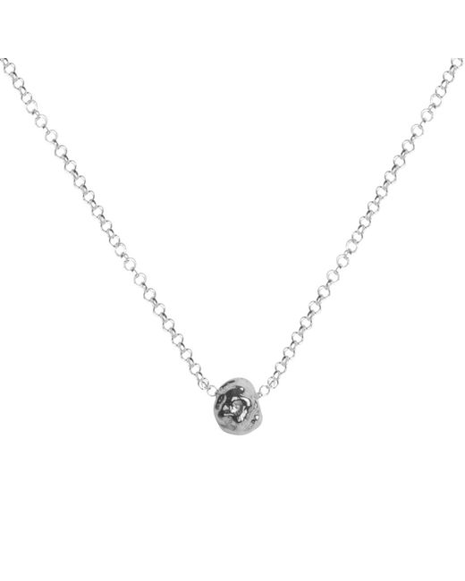 Matthew Calvin - Metallic Small Meteorite Pendant Silver - Lyst