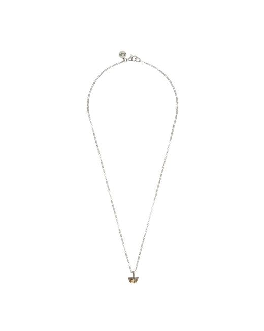 Chupi | Metallic Tiny Twinkle In The Wild Citrine Necklace In Silver | Lyst