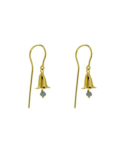 Yvonne Henderson Jewellery - Metallic Bluebell Drop Earrings With Iolite - Lyst