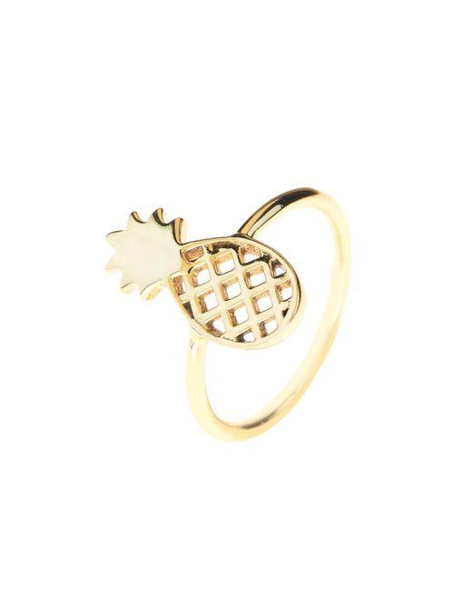 Latelita London - Metallic Cosmic Pineapple Ring Gold - Lyst