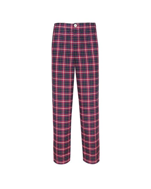 Law of Sleep | Theodore Pyjama Trousers Red for Men | Lyst