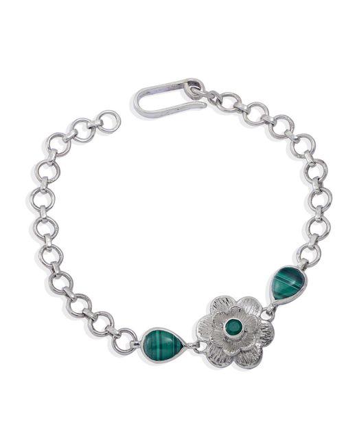 Emma Chapman Jewels - Green Gyspy Rose Malachite Bracelet - Lyst
