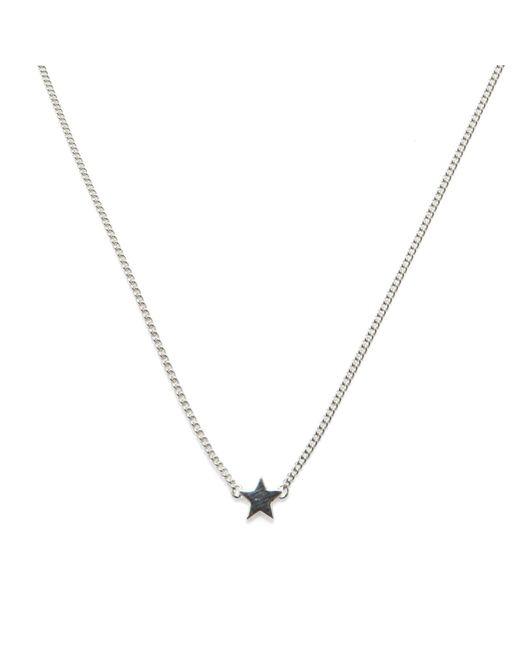 Isabel Lennse | Metallic Mini Star Necklace | Lyst