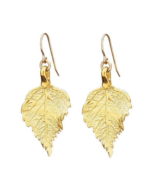 Chupi - Metallic Tiny The Sweetest Thing Raspberry Leaf Earrings - Lyst
