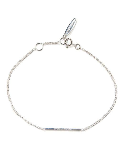 Isabel Lennse - Metallic Xs Rod Bracelet - Lyst
