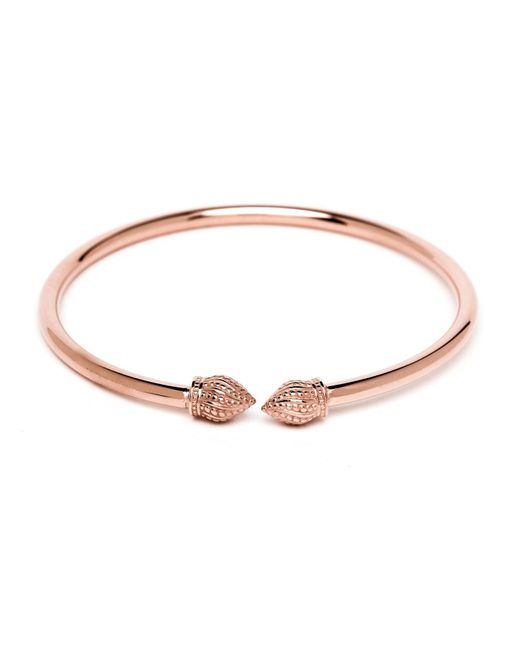 Durrah Jewelry | Multicolor Rose Cylinder Bangle | Lyst