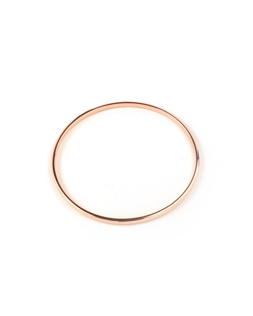 Matthew Calvin | Metallic Rose Gold Machinist Bangle | Lyst