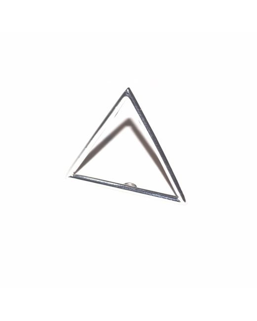 J.Y. GAO - Metallic Triangle Stacking Ring - Lyst