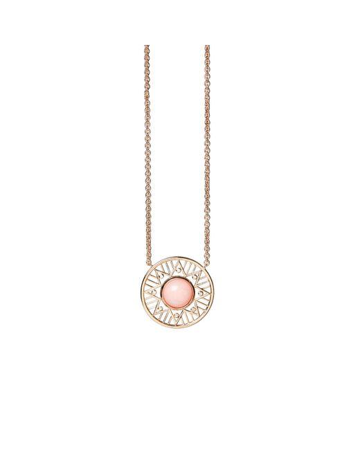 Alexandra Alberta - Chelsea Pink Opal Necklace - Lyst