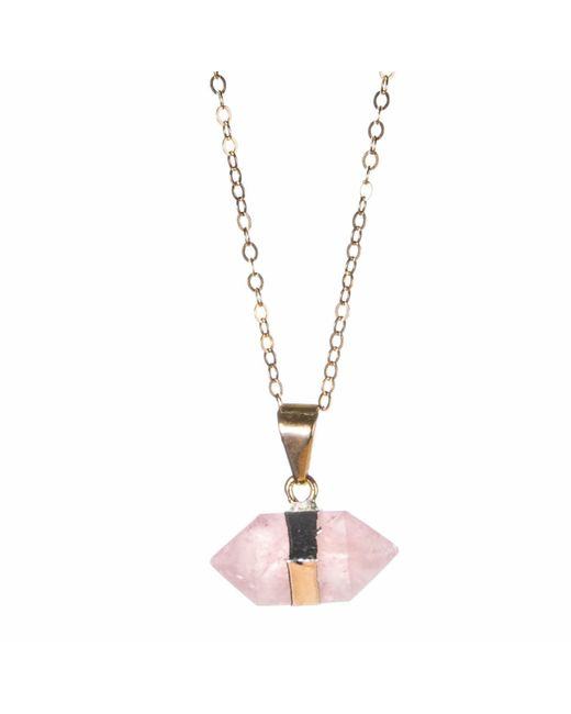Tiana Jewel - Metallic Goddess Rose Mini Necklace Siena Collection - Lyst