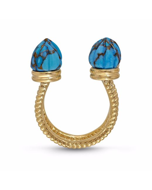 LMJ - Blue Sea Breeze Ring - Lyst