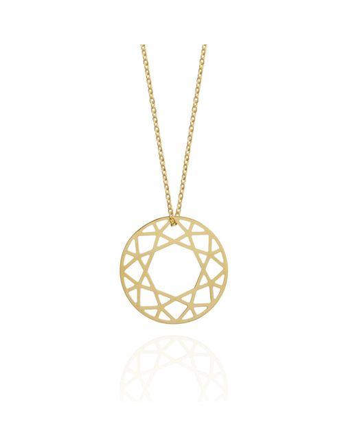 Myia Bonner - Metallic 9ct Gold Small Brilliant Diamond Necklace - Lyst