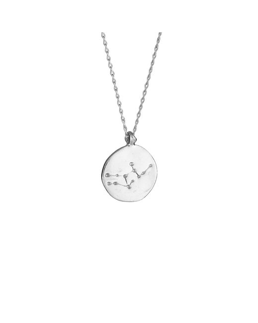 Chupi - Metallic Virgo We Are All Made Of Stars Star Sign Necklace In Silver - Lyst