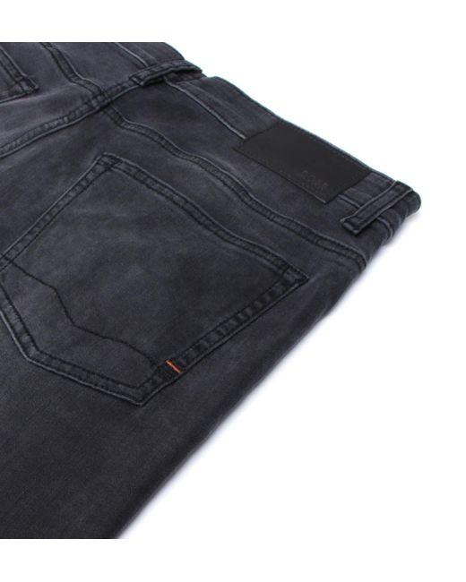26dc58dfc ... BOSS by Hugo Boss - Gray Boss Delaware Grey Coal Slim Fit Jeans for Men  ...