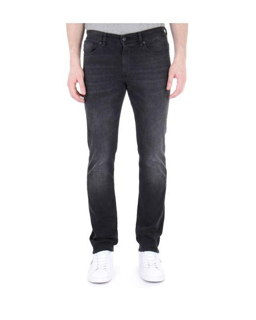 dea5b0ae7 BOSS by Hugo Boss - Gray Boss Delaware Grey Coal Slim Fit Jeans for Men ...