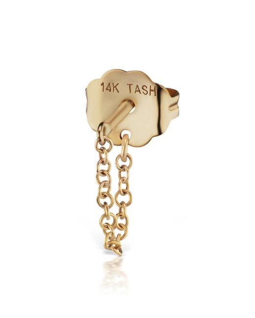 Maria Tash - Metallic Chain Wrap Single Earring - Lyst