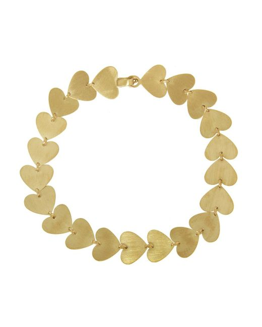 Irene Neuwirth - Metallic Small Multi Heart Bracelet - Lyst