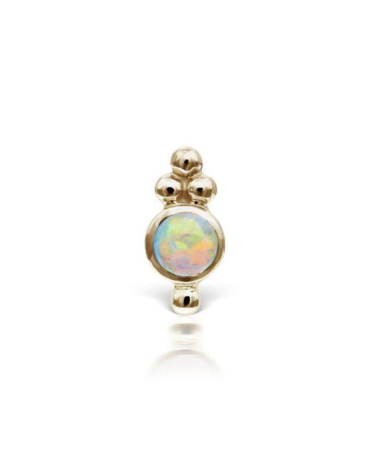 Maria Tash - Metallic Four Ball Opal Trinity Thread Through Single Earring - Lyst