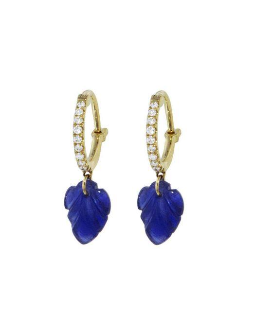 Raphaele Canot - Multicolor Set Free Sapphire Leaf Earrings - Lyst