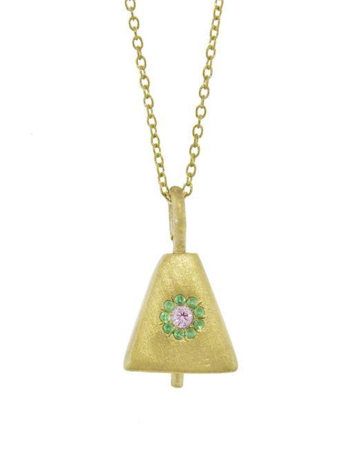 Ileana Makri - Multicolor Single Bell Necklace - Lyst
