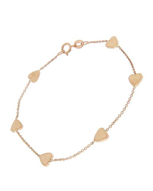 Jennifer Meyer - Metallic Heart By The Inch Chain Bracelet - Lyst
