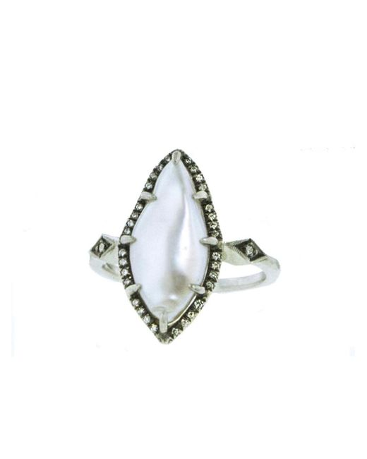Cathy Waterman - Multicolor Tennessee River Pearl Ring - Lyst