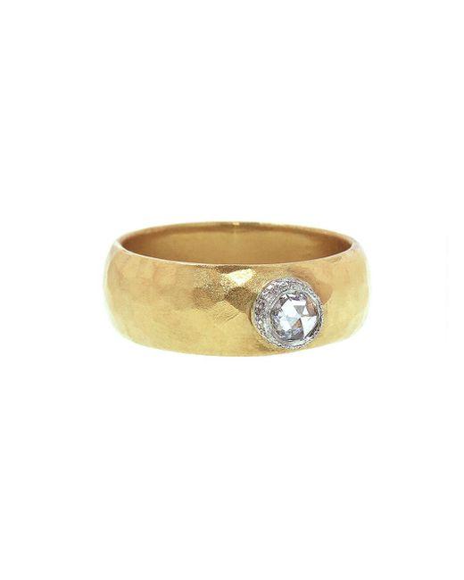 Cathy Waterman - Multicolor Moghul Diamond Rose Crown Ring - Lyst