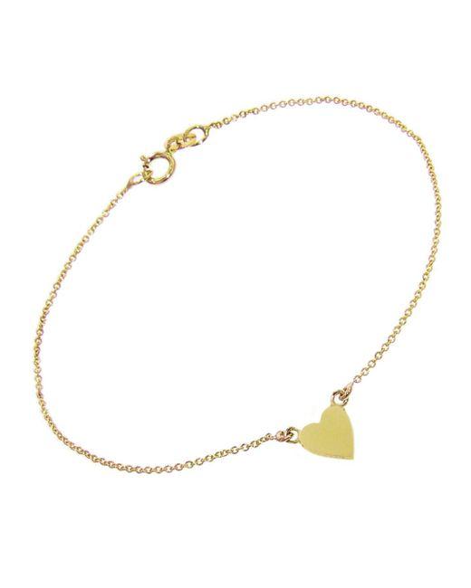 Jennifer Meyer - Metallic Heart Bracelet - Lyst