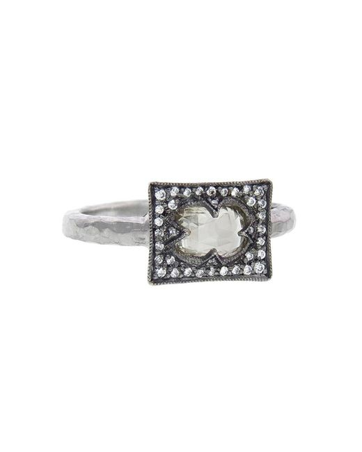 Cathy Waterman - Gray Grey Mogul Diamond Ring - Lyst