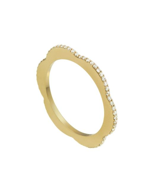 Raphaele Canot - Multicolor Diamond Happy Deco Ring - Lyst