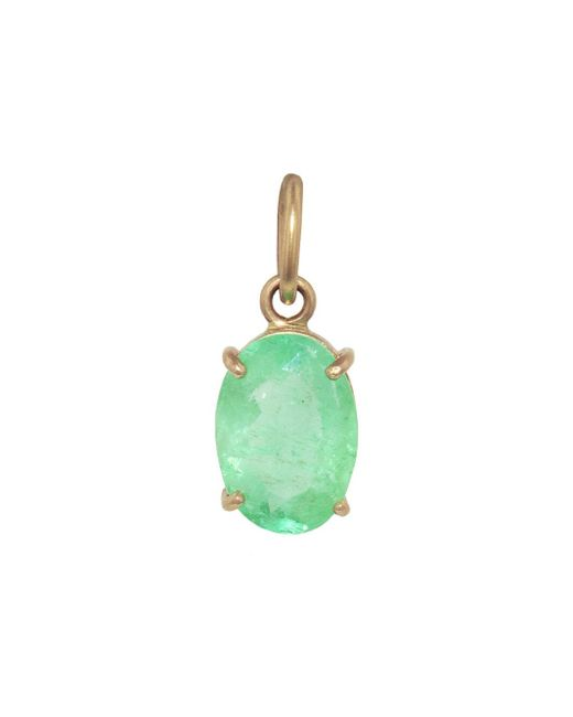 Irene Neuwirth - Green One-of-kind 2.62 Carat Emerald Oval Charm - Lyst