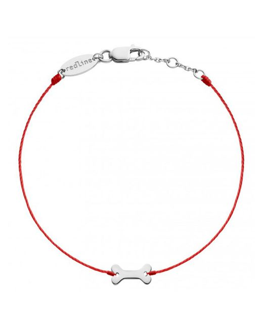RedLine - Multicolor Bone Red Bracelet - Lyst