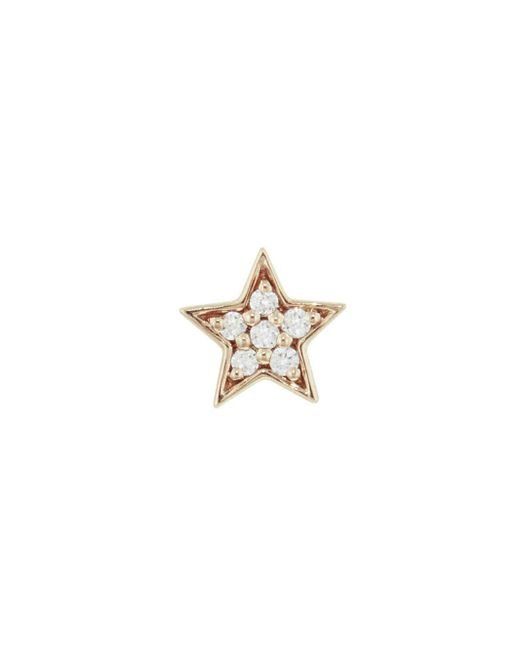 Andrea Fohrman - Metallic Mini Diamond Star Single Stud Earring - Lyst