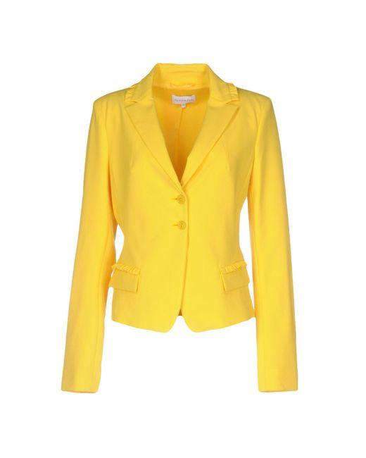 Patrizia Pepe - Yellow Blazer - Lyst