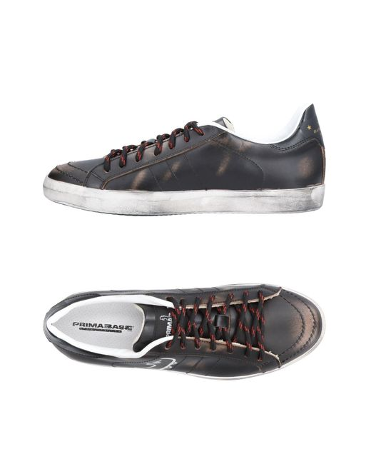 Primabase - Brown Low-tops & Sneakers for Men - Lyst